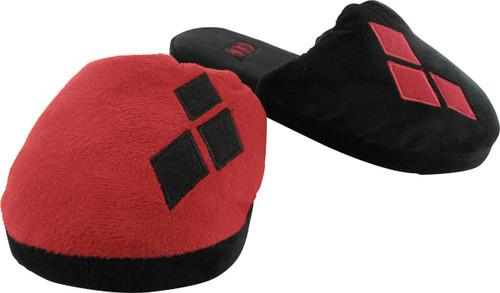 Harley Quinn Costume Womens Slippers