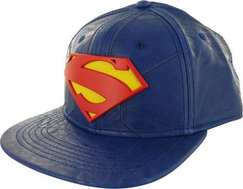 Superman Suit Up Metal Badge Snapback Hat 5a7d1c585c30