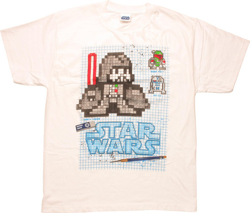 Star Wars Vader Graphic Paper Youth T-Shirt