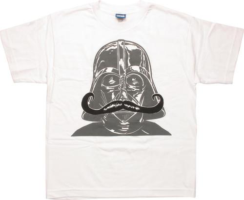 Star Wars Darth Vader Mustache Youth T-Shirt
