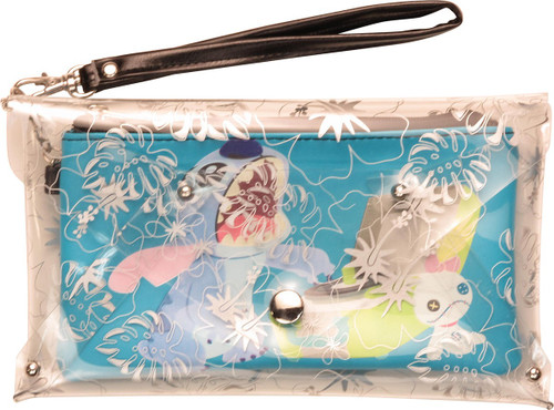 Lilo and Stitch Record Player Wristlet Wallet
