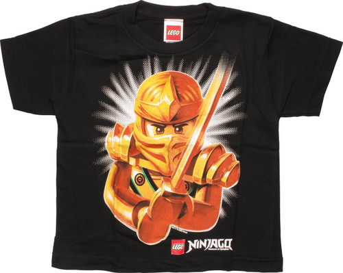 Lego Ninjago Golden Ninja Juvenile T-Shirt