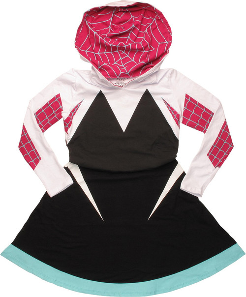 Spiderman Spider-Gwen Costume Skater Hoodie