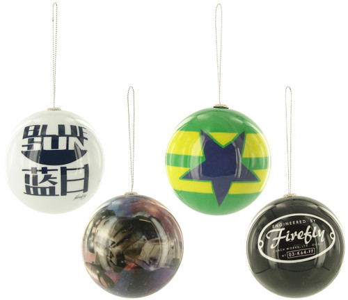 Firefly Icons 4 Pack Ornament Set