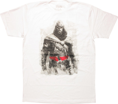 Assassins Creed Ezio White T-Shirt