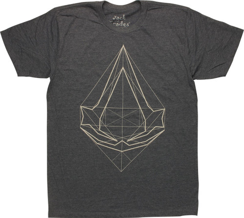 Assassins Creed Animus Reading T-Shirt Sheer