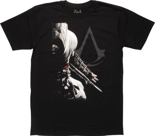 Assassins Creed Altair and Logo T-Shirt Sheer