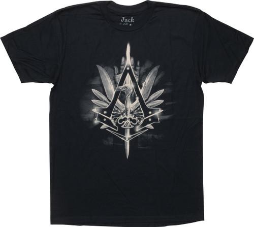Assassins Creed Syndicate Bird Quest T-Shirt Sheer