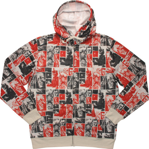 Punisher Portraits Sublimated Hoodie