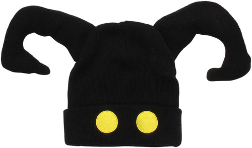 Kingdom Hearts Shadow Face Cuff Beanie