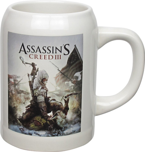 Assassins Creed 3 Cover Art Stein Mug