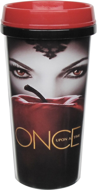 Once Upon Time Evil Queen Apple Poster Travel Mug