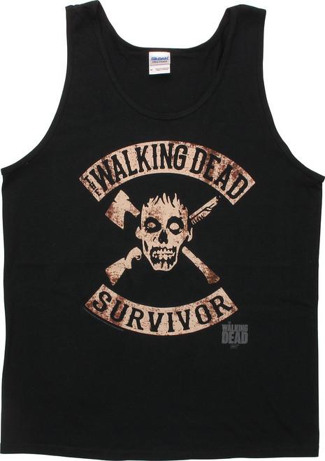 Walking Dead Survivor Tank Top