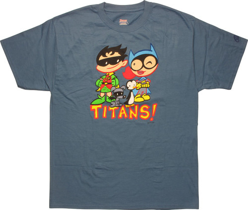 Tiny Titans Batgirl Robin T-Shirt