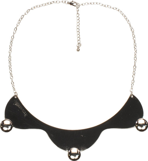 Harley Quinn Chrome Collar Necklace