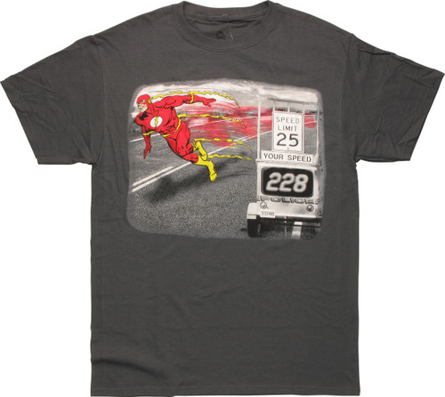 Flash Speed Limit Your Speed T-Shirt