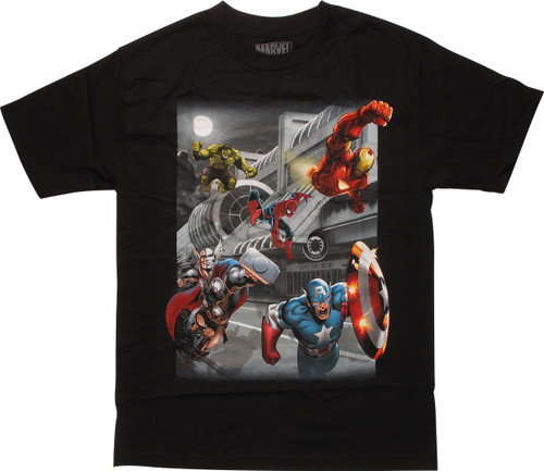Avengers Con Heroes SDCC T-Shirt