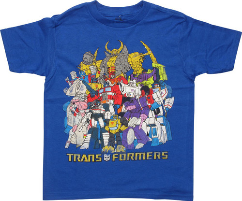 Transformers Toon Group Juvenile T-Shirt