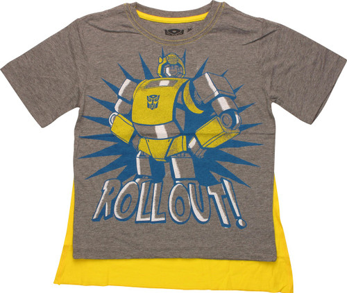 Transformers Roll Out Caped Juvenile T-Shirt
