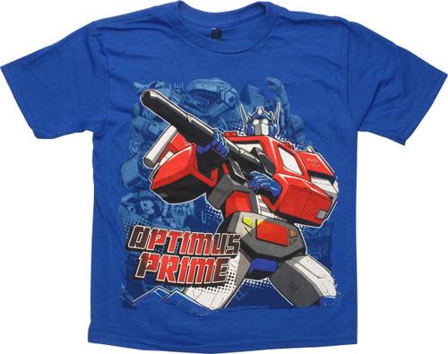 Transformers Optimus Cannon Juvenile T-Shirt