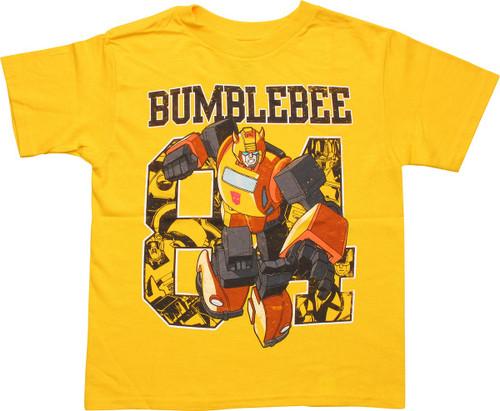 Transformers Bumblebee 84 Juvenile T-Shirt