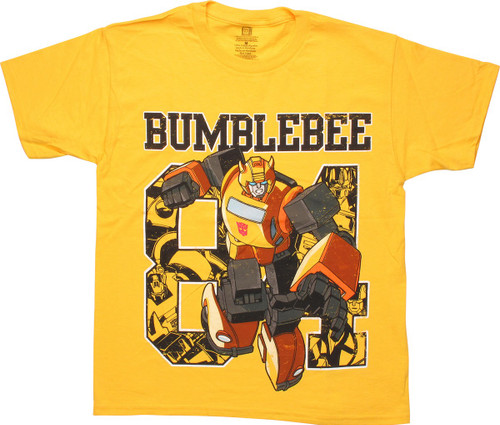 Transformers Bumblebee 84 Youth T-Shirt