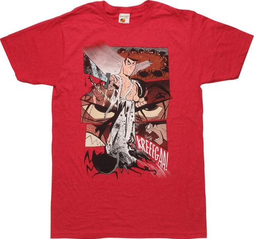 Samurai Jack Kreeegaa! T-Shirt Sheer