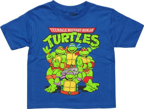 Ninja Turtles Main Group Toddler T-Shirt