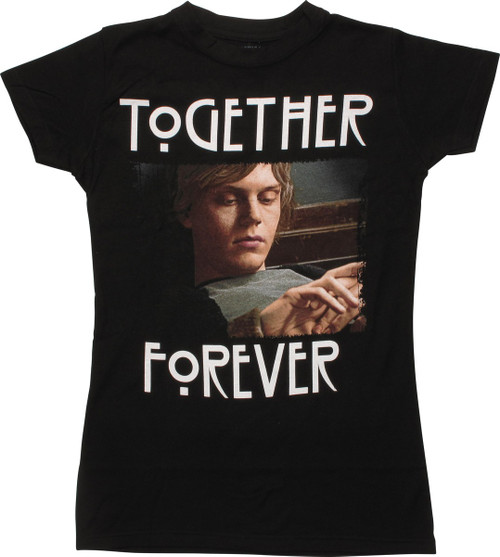 80123580a0b3 American Horror Story Forever Juniors T-Shirt baby-tee-american-horror-story -forever