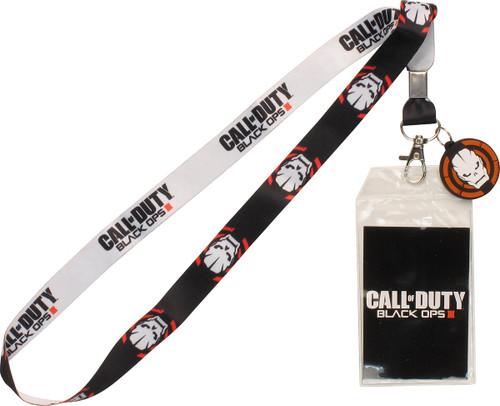Call of Duty Black Ops 3 Skull Logo Lanyard