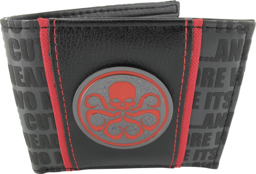 Hydra Metal Logo Bifold Wallet