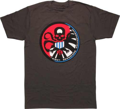 Hydra Logo Infiltrating SHIELD Logo T-Shirt