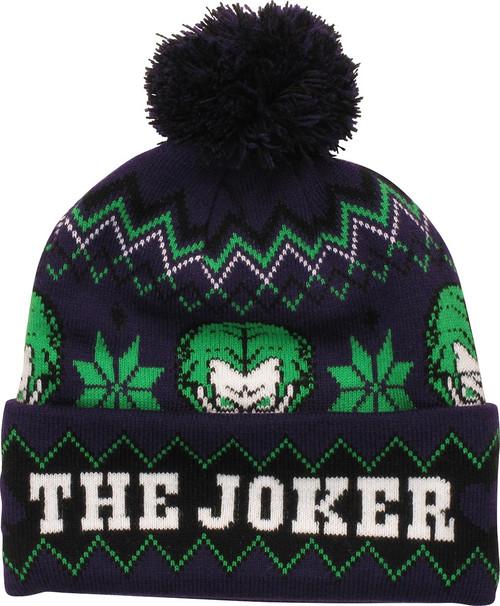 Joker The Joker Knit Cuff Pom Beanie