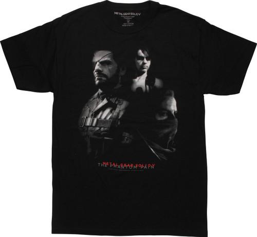 Metal Gear Solid 5 Phantom Pain Trio T-Shirt