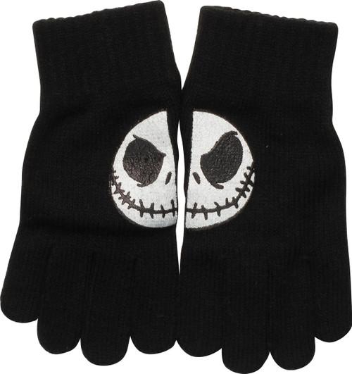Nightmare Before Christmas Jack Split Smile Gloves