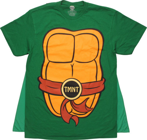 Ninja Turtles Costume Caped T-Shirt