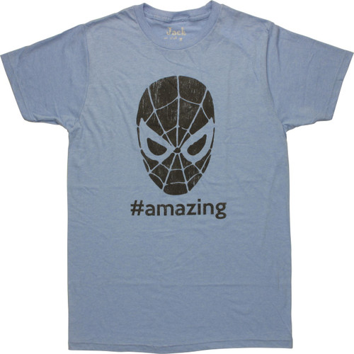 Spiderman Hashtag Amazing T-Shirt