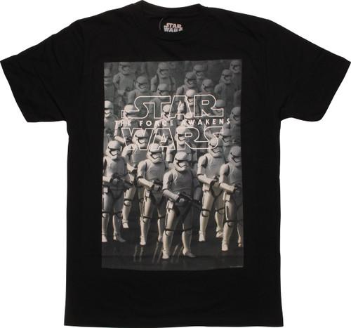 Star Wars TFA Stormtroopers MF T-Shirt Sheer