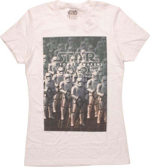 Star Wars TFA Stormtroopers Juniors T-Shirt