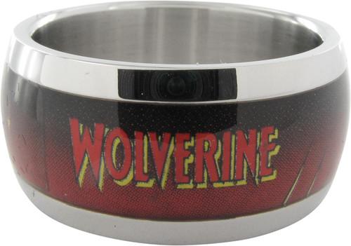 X Men Wolverine Name Pose Ring