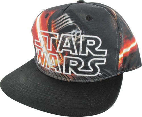 Star Wars Force Awakens Kylo Ren Sublimated Hat