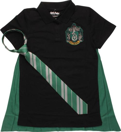 Harry Potter Slytherin Juniors Polo Shirt
