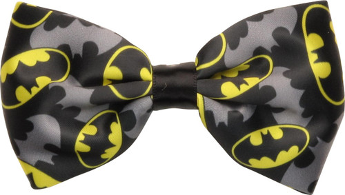Batman Logo Hair Bow