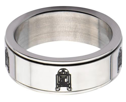 Star Wars R2-D2 Spinner Ring