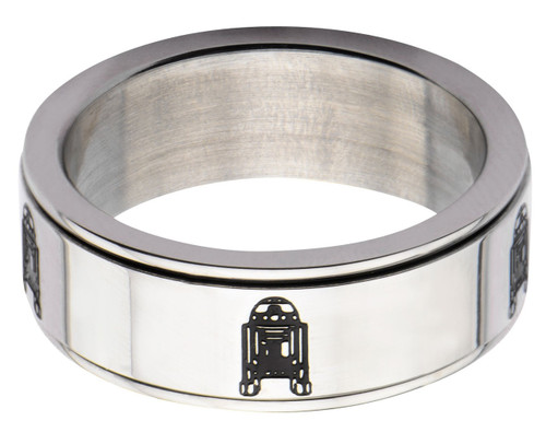 Star Wars R2-D2 Spinner Ring
