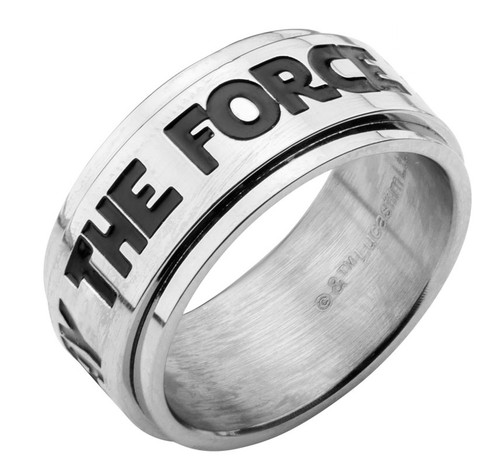 Star Wars May the Force Be With You Ring