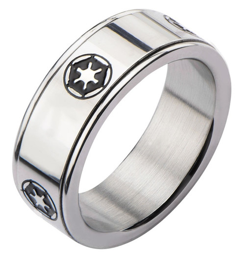 Star Wars Imperial Logo Spinner Ring