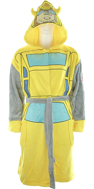 Transformers Autobot Bumblebee Masked Hooded Robe