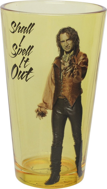 Once Upon a Time Shall I Spell it Out Pint Glass
