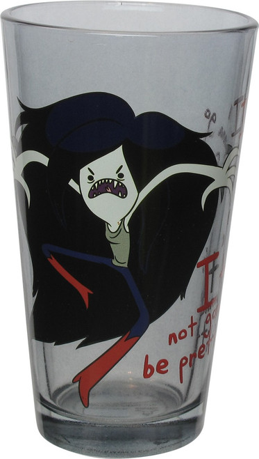 Adventure Time Im Going into Feral Mode Pint Glass